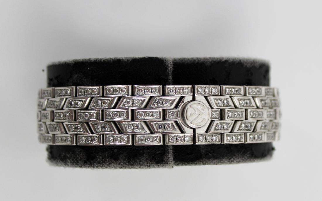 Franck Muller 18kt gold and diamond ladies watch - 2