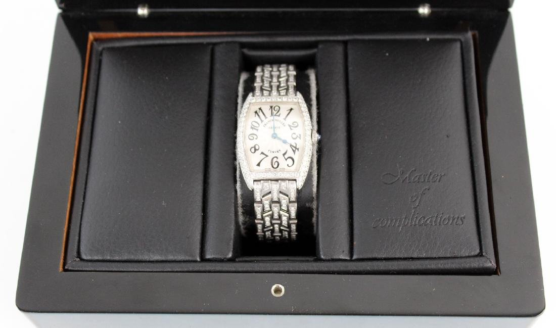 Franck Muller 18kt gold and diamond ladies watch - 4