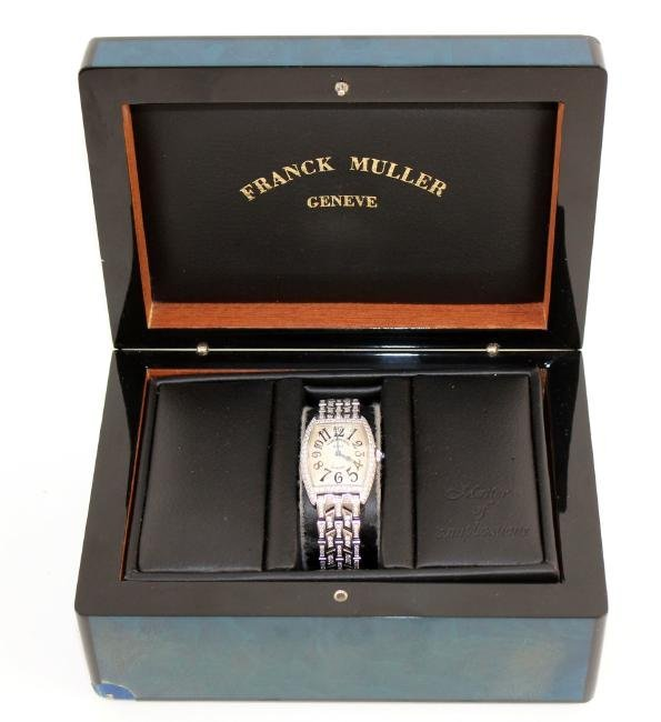 Franck Muller 18kt gold and diamond ladies watch - 6
