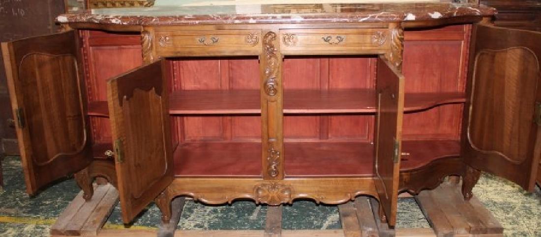 French Louis XV style walnut sideboard - 3