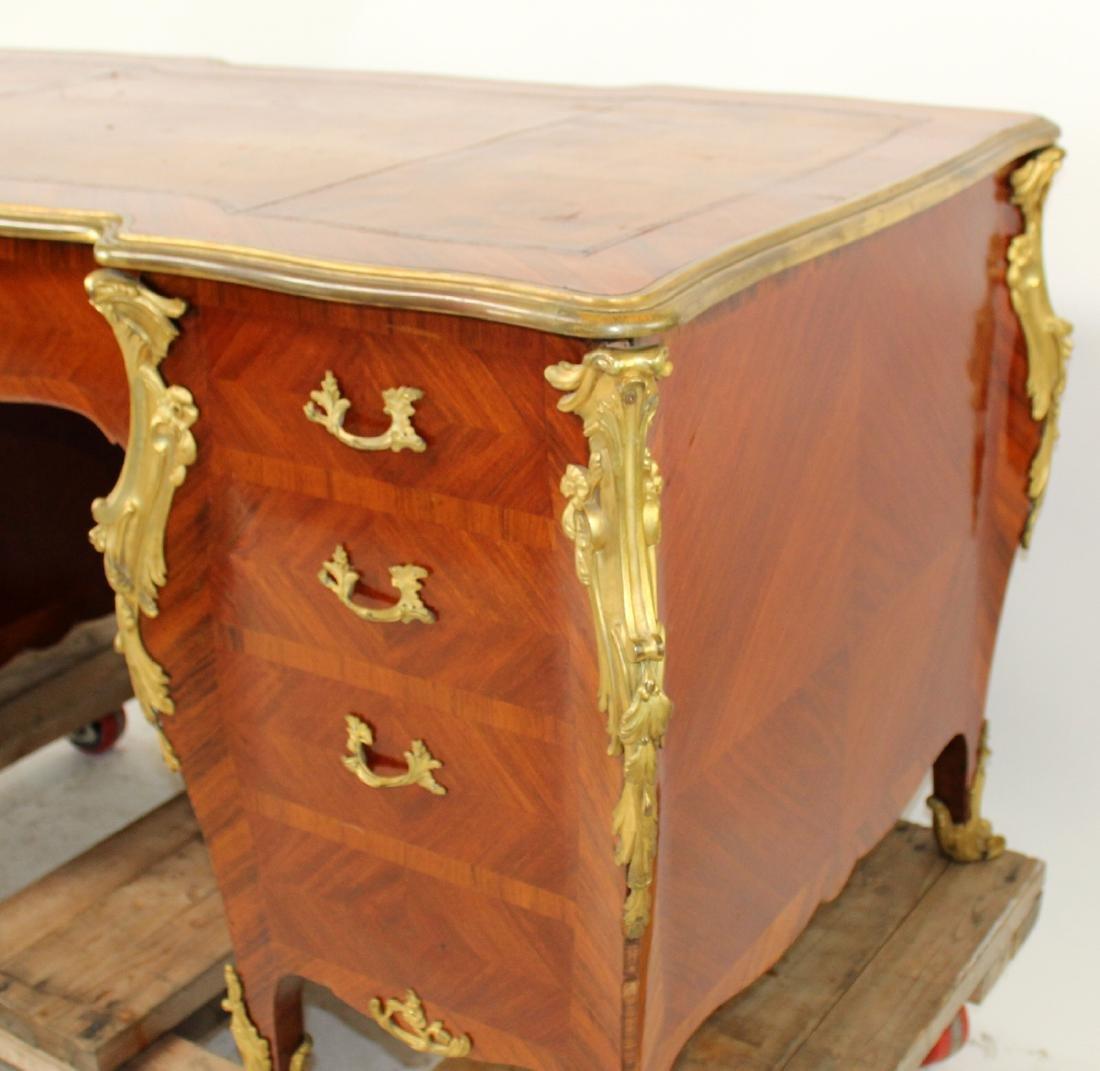 French Louis XV ormolu mount desk - 4