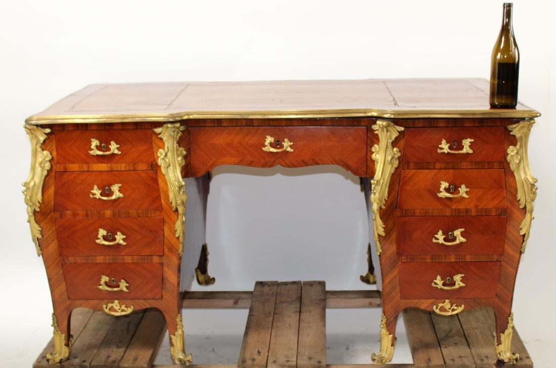 French Louis XV ormolu mount desk - 9