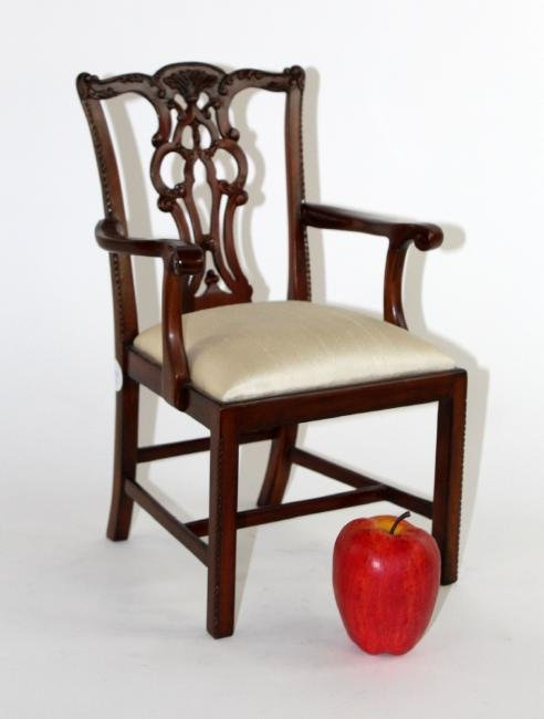 Maitland Smith Chippendale doll chair