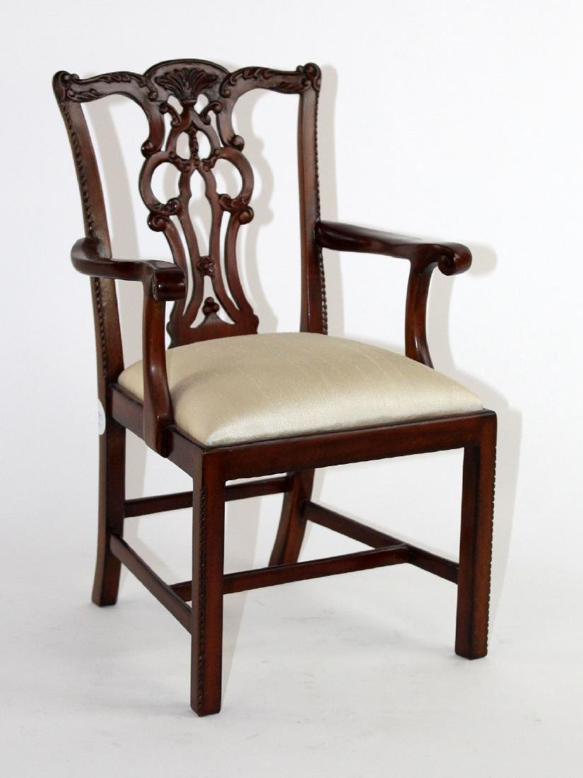 Maitland Smith Chippendale doll chair - 3