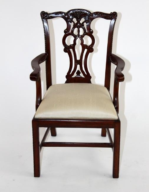Maitland Smith Chippendale doll chair - 4