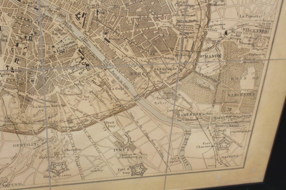 Large scale map of Paris - 4