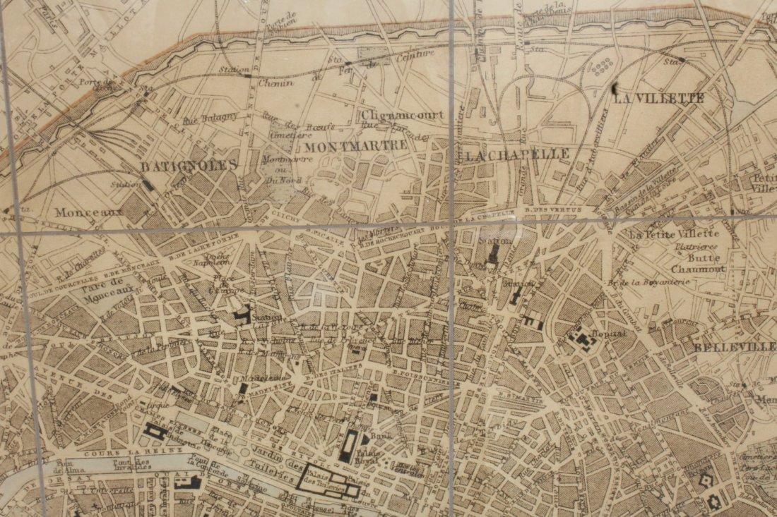 Large scale map of Paris - 5