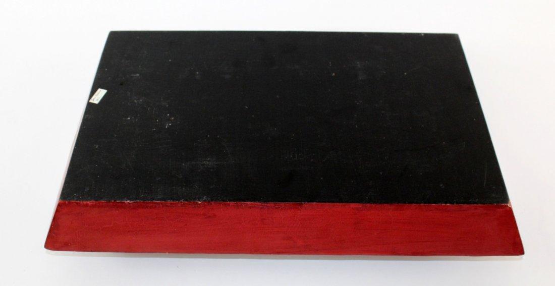 John Richard painted tray - 6