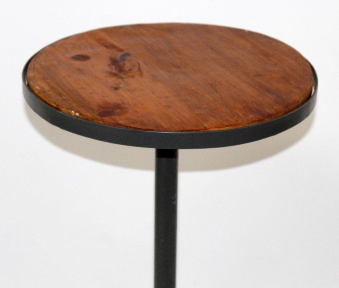Adjustable industrial style bar stool - 3