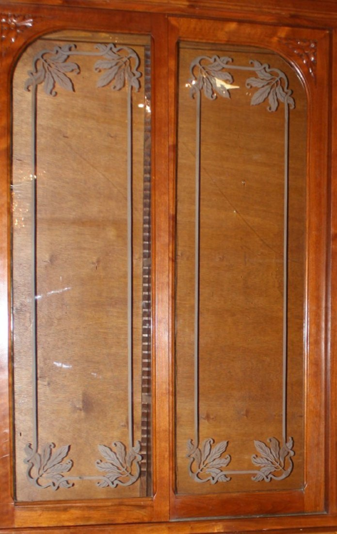 French Art Nouveau apothecary cabinet - 3