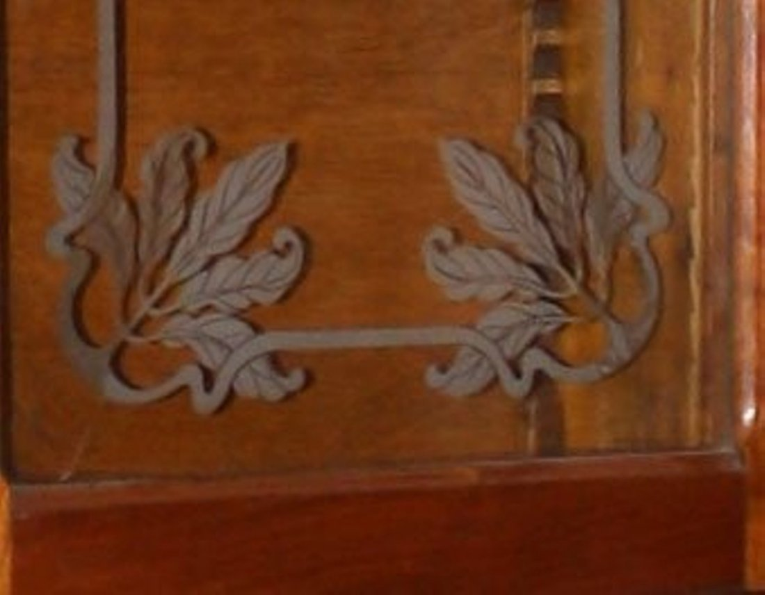 French Art Nouveau apothecary cabinet - 4