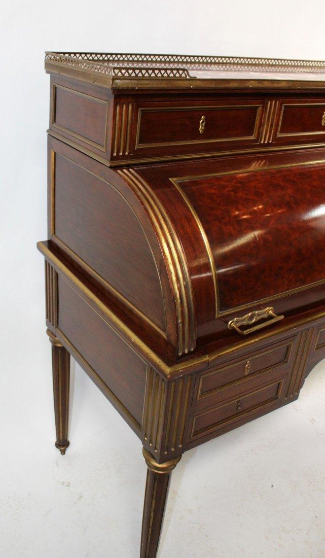 French Louis XVI cylinder desk - 3