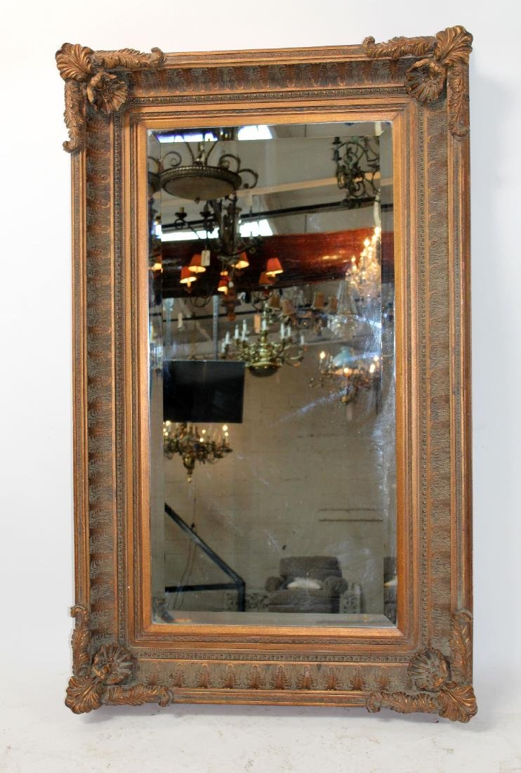 Acanthus decorated framed mirror - 3