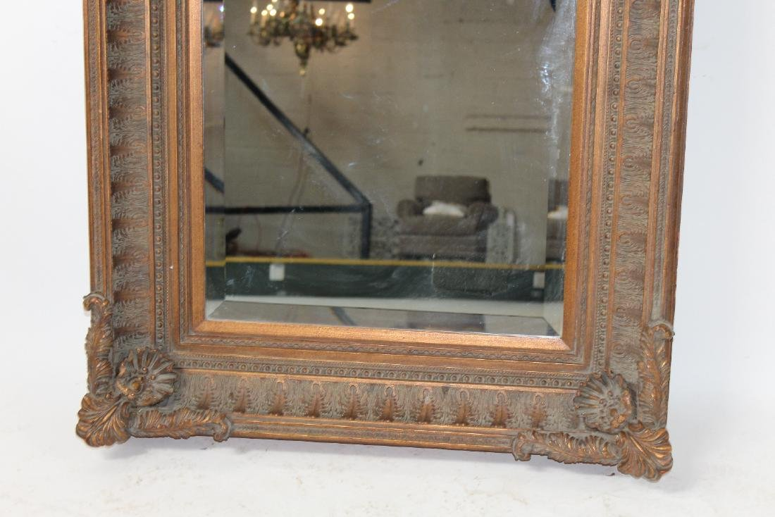 Acanthus decorated framed mirror - 4