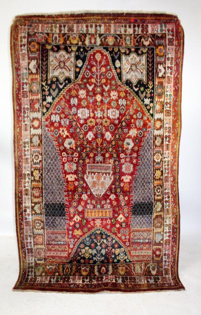 Persian Qashqai Rug 4'6 x 7'8 - 2