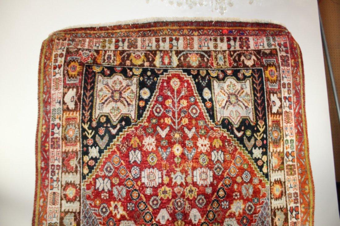 Persian Qashqai Rug 4'6 x 7'8 - 3