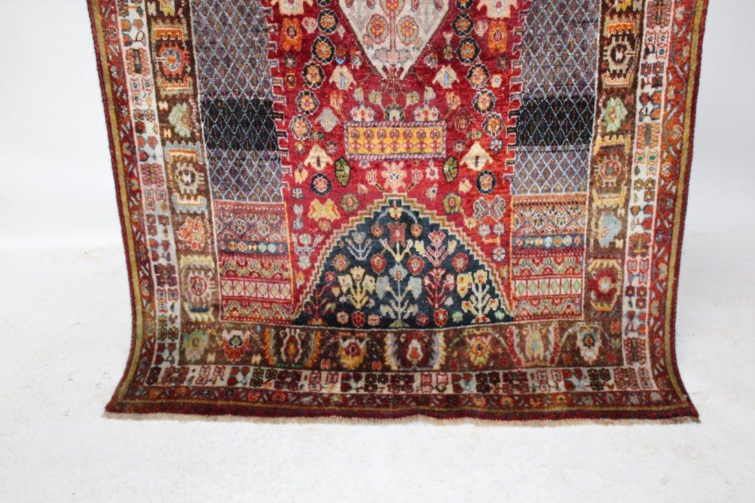 Persian Qashqai Rug 4'6 x 7'8 - 4
