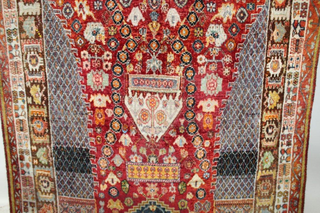 Persian Qashqai Rug 4'6 x 7'8 - 5