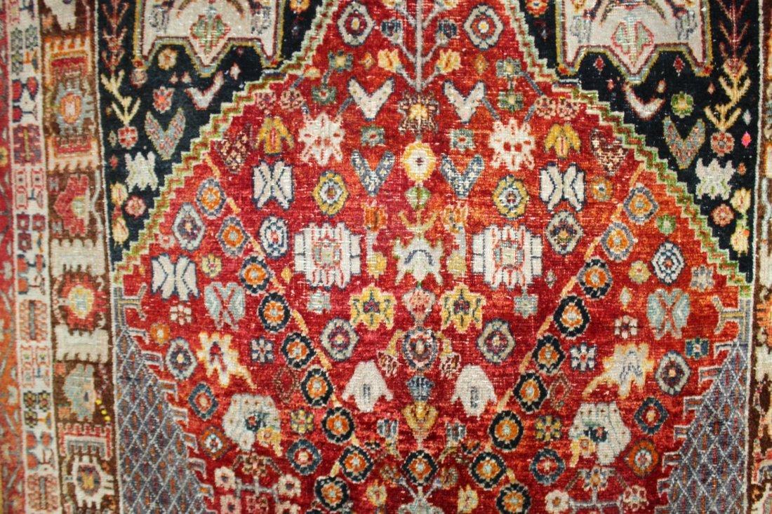Persian Qashqai Rug 4'6 x 7'8 - 6