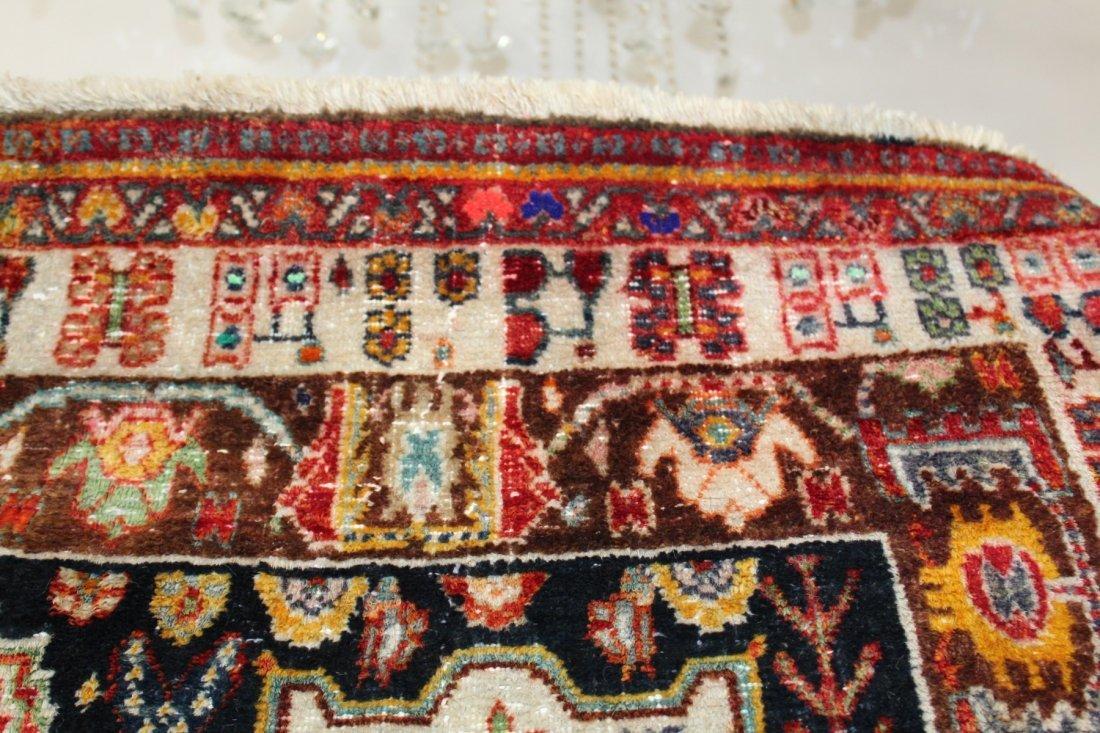 Persian Qashqai Rug 4'6 x 7'8 - 7