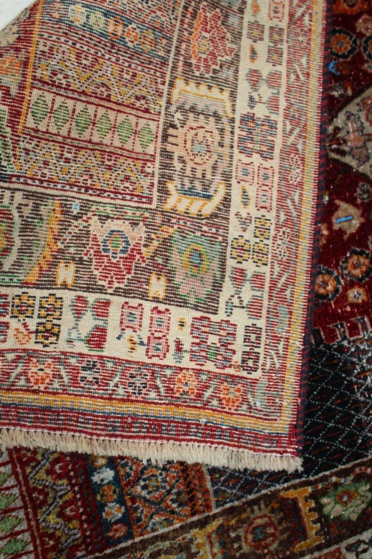 Persian Qashqai Rug 4'6 x 7'8 - 9