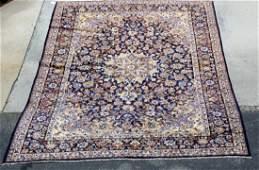 Persian Kashan wool rug 9'1 x 13'