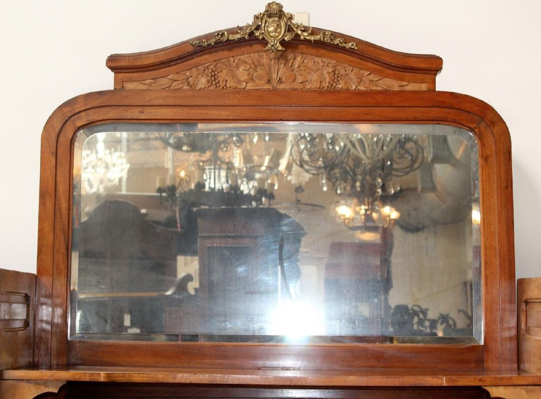 Louis XVI style curved side buffet - 4