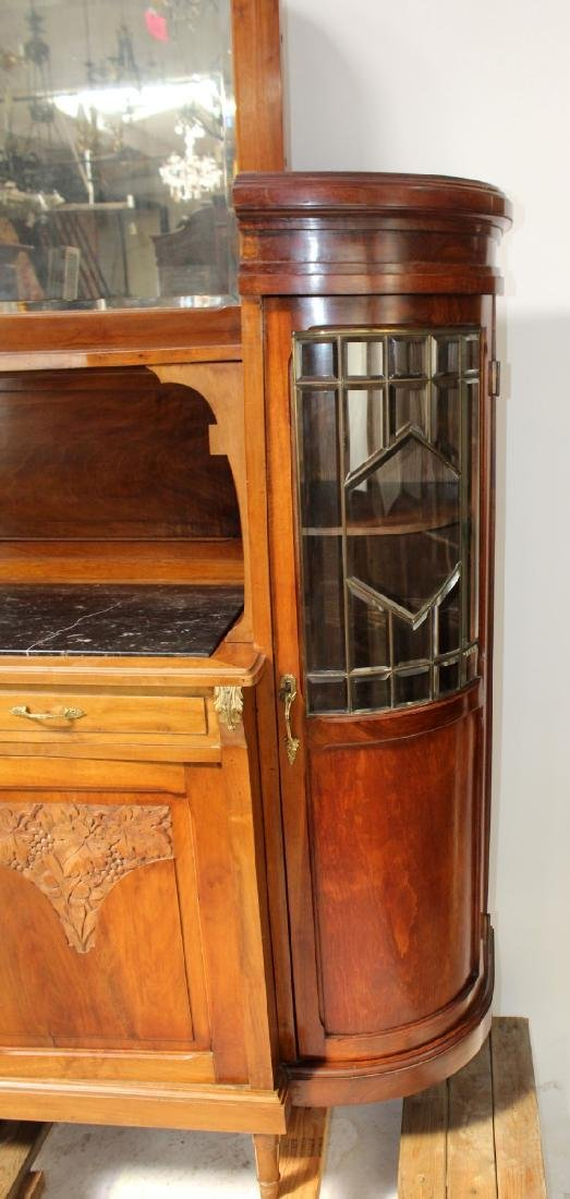 Louis XVI style curved side buffet - 6