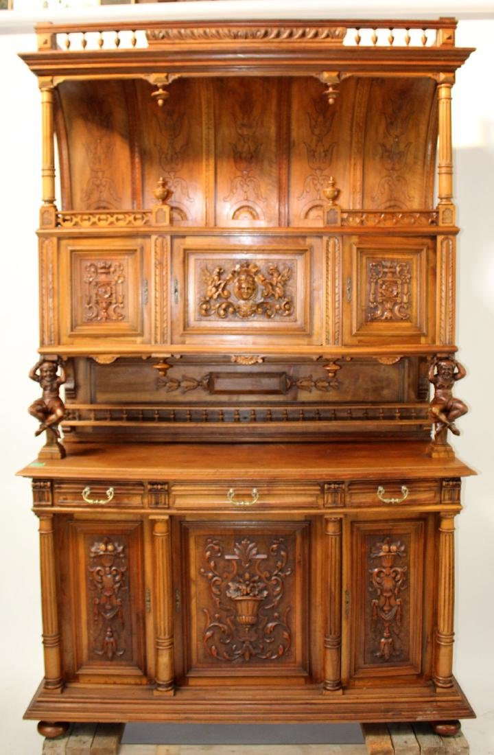 French Mannerist hooded buffet - 3