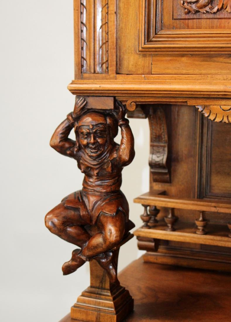 French Mannerist hooded buffet - 4