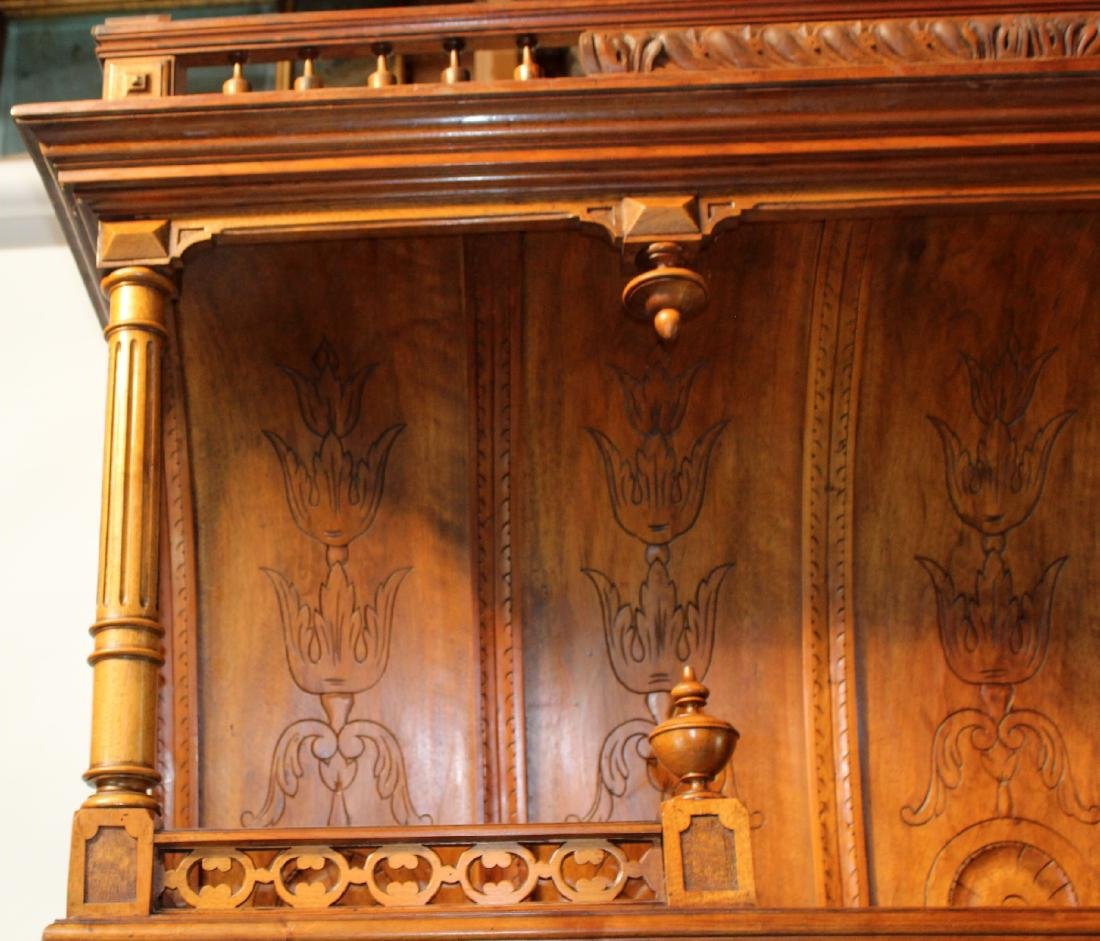 French Mannerist hooded buffet - 5