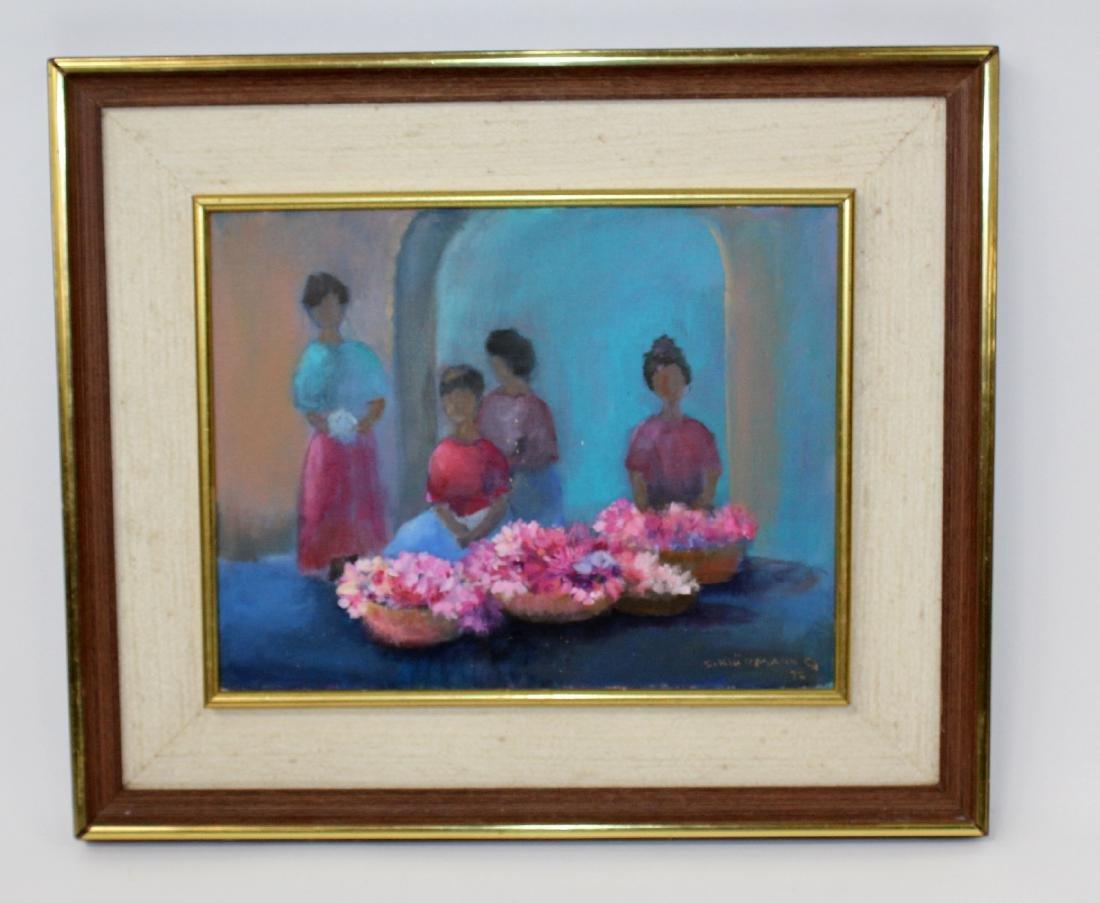 Ingris Klussman oil on canvas