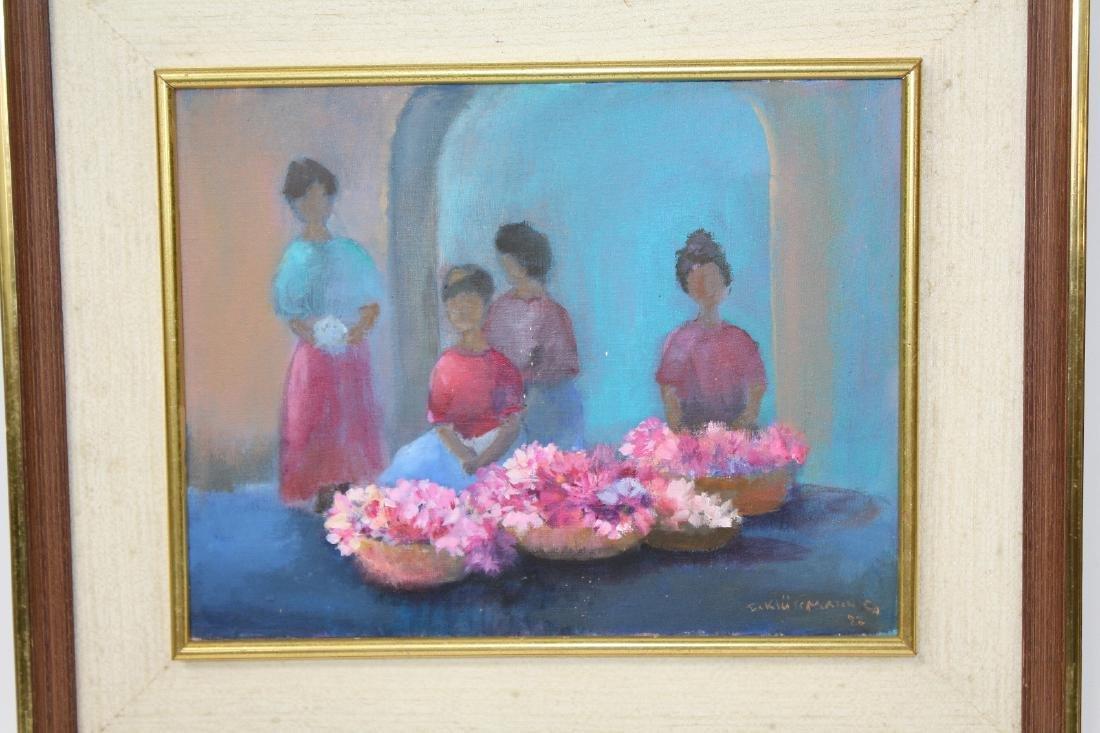 Ingris Klussman oil on canvas - 3