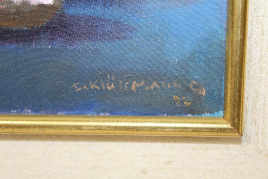 Ingris Klussman oil on canvas - 4