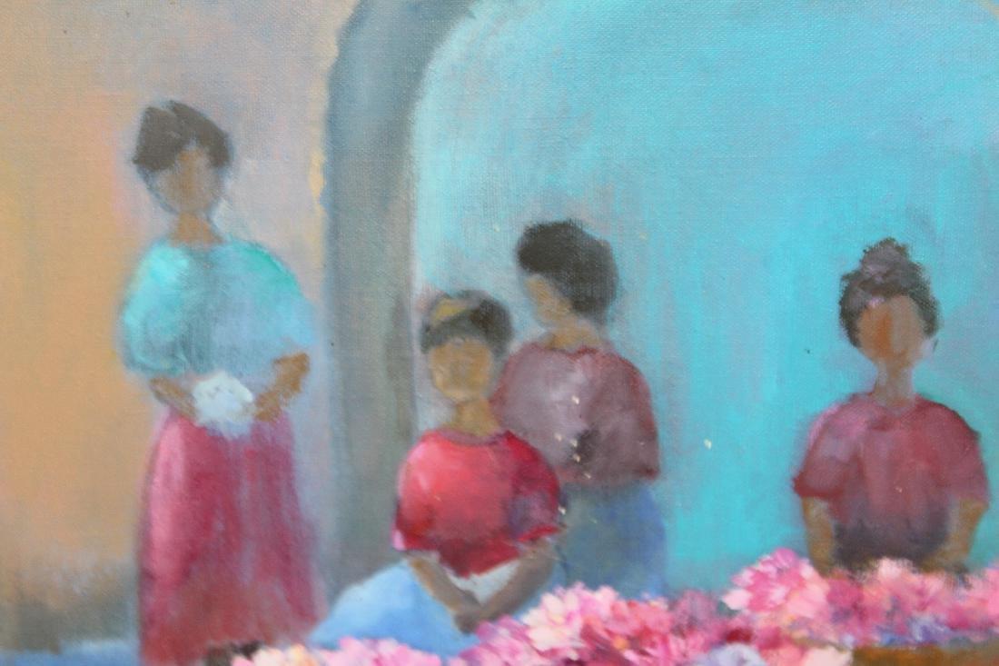 Ingris Klussman oil on canvas - 5
