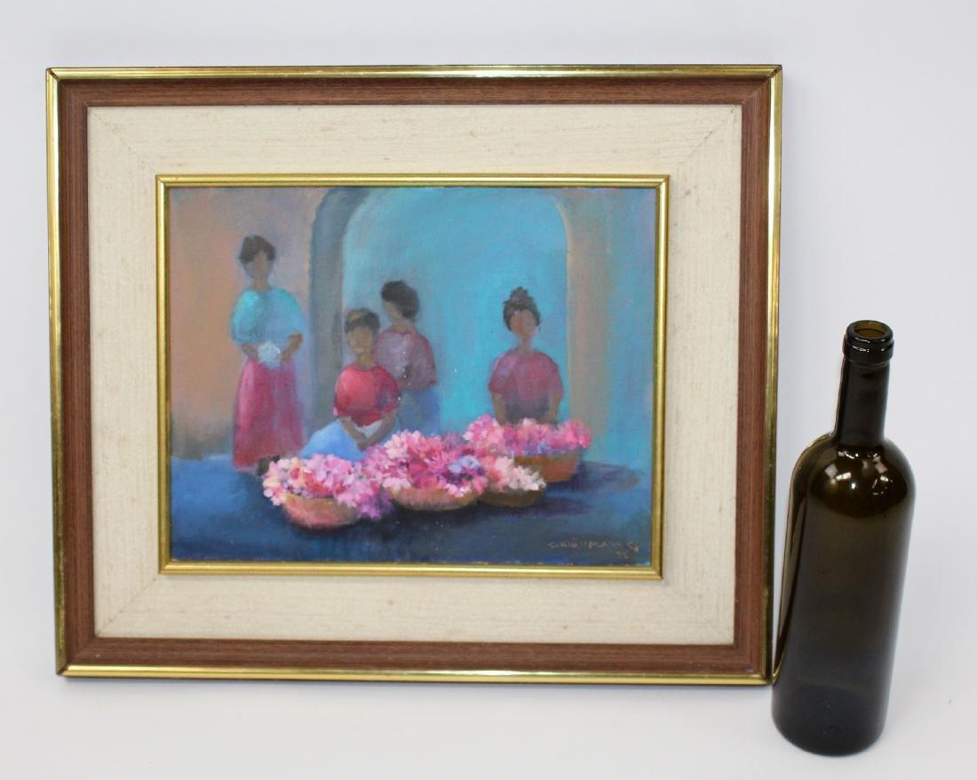 Ingris Klussman oil on canvas - 7