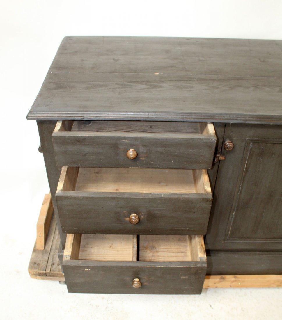 French painted kitchen island/store counter - 10