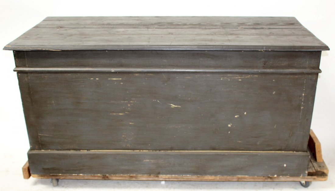 French painted kitchen island/store counter - 3