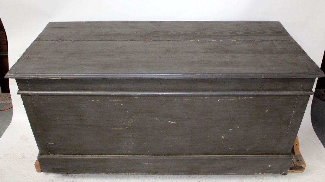 French painted kitchen island/store counter - 4