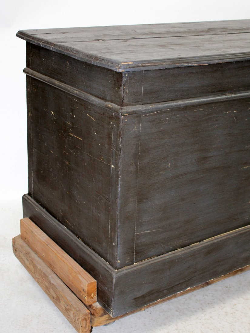 French painted kitchen island/store counter - 5