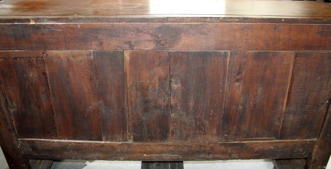 French Provincial 3 door enfilade in oak - 6