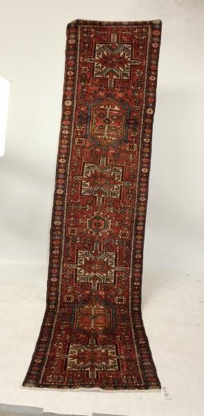 Persian Karajeh Rug 2'6 x 10'6