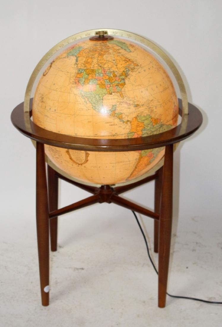 "20"" Heirloom lighted globe by Replogle"
