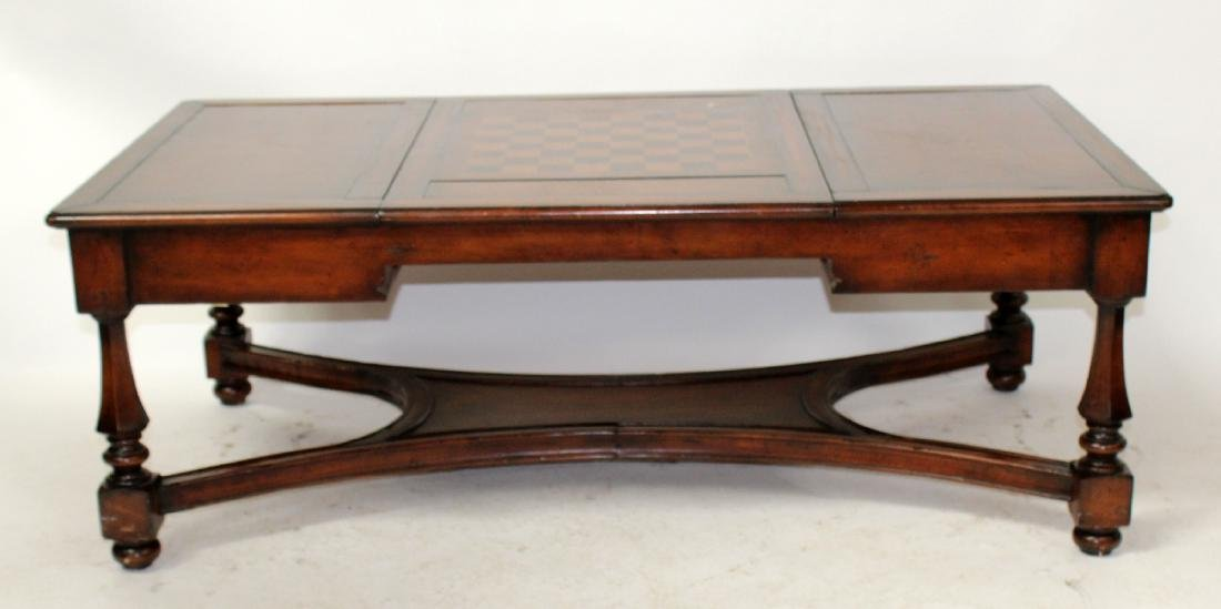 Cocktail table with removable game board