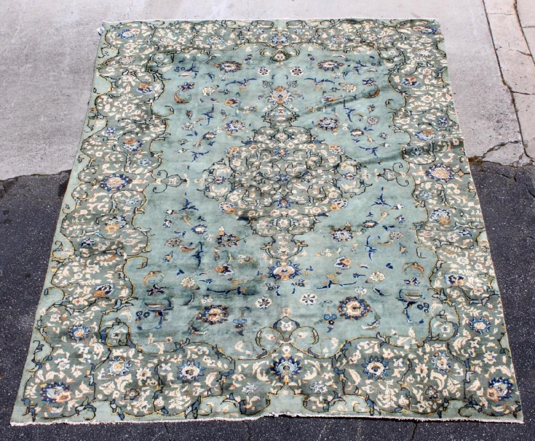 """7'10"""" x 10'10"""" Persian Kashan rug"""