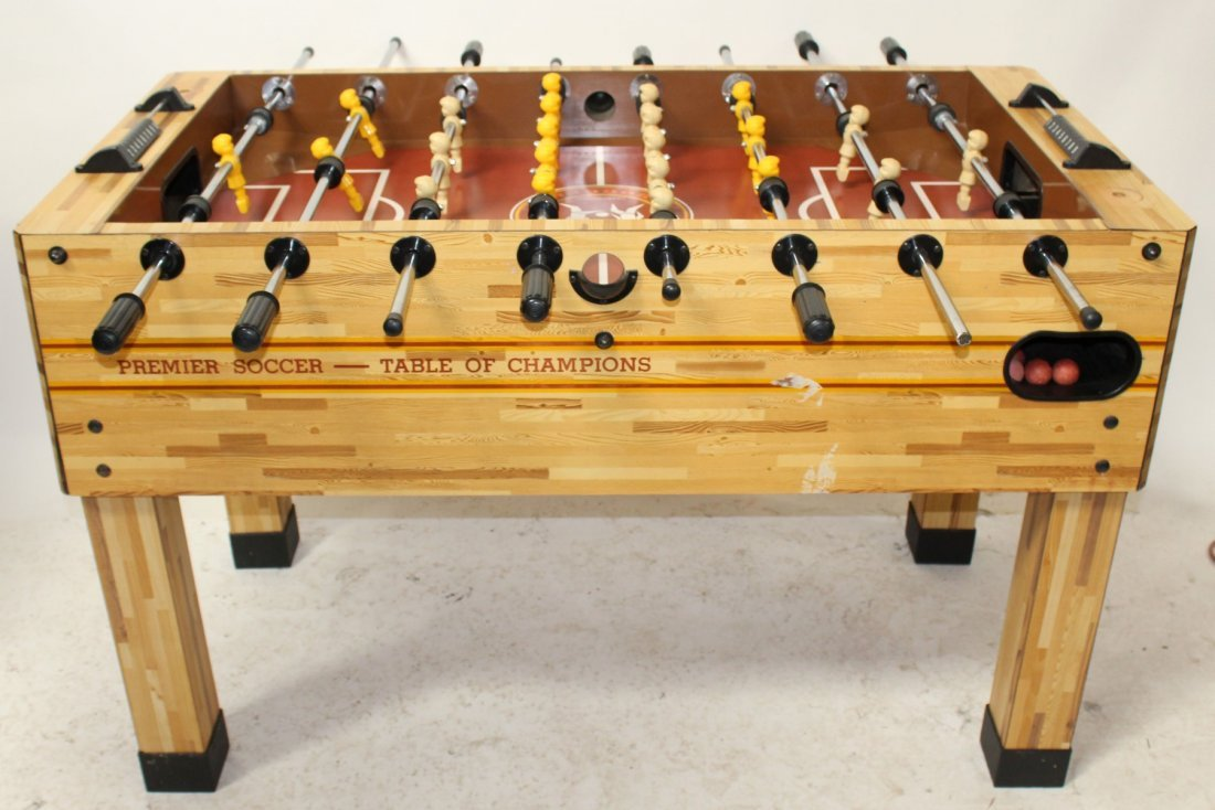 """Champions League"" Foosball table"
