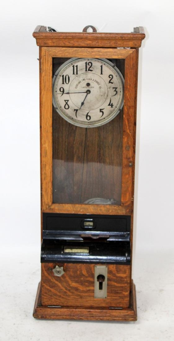 Cleveland time clock & service co time clock