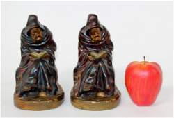 Armor Bronze Co monk form bookends