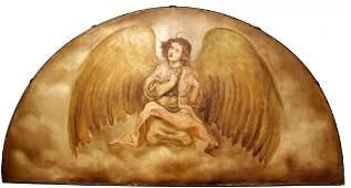 """Angel Guardian"" original painting by Alberto Padilla"