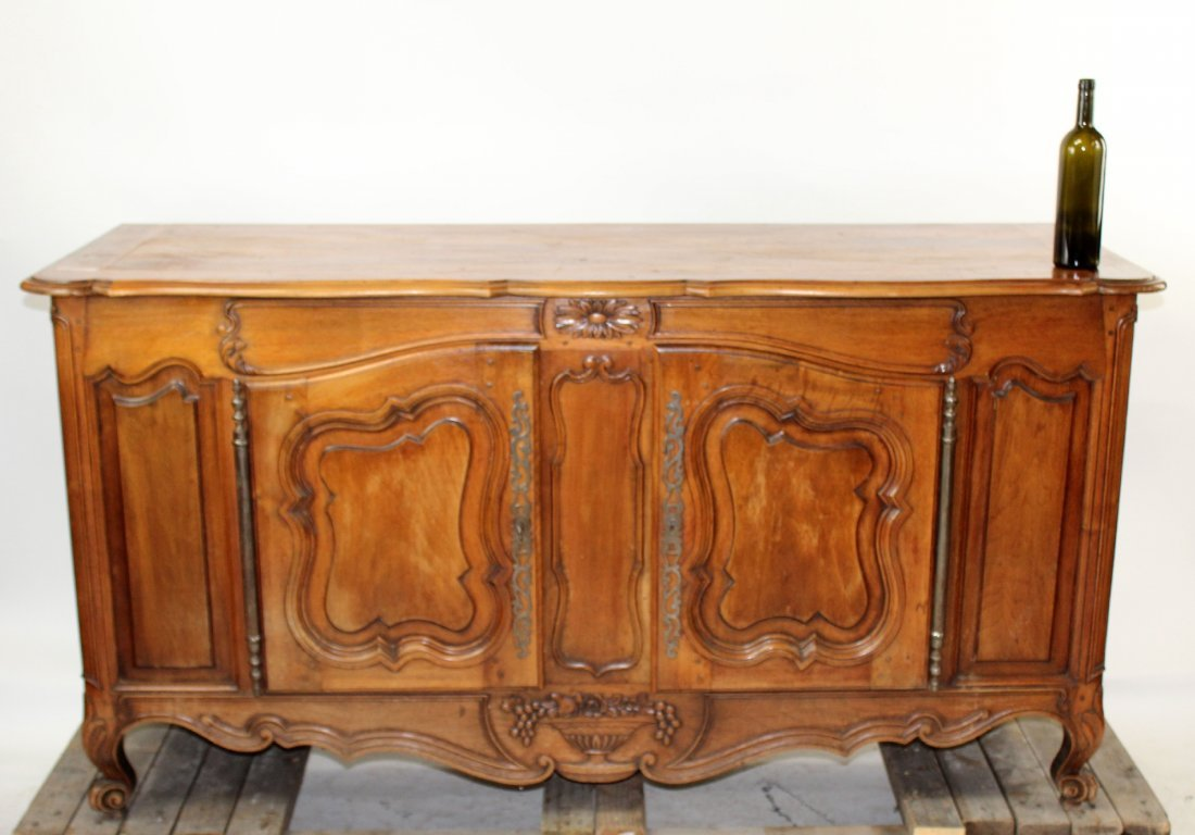 French Louis XV enfilade in walnut